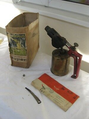 vintage blowtorch made by Primus Sweden No 632 with 0riginal box