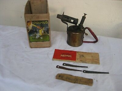 vintage blowtorch made by Primus Sweden No 630 with 0riginal box