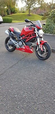 2014 Ducati Monster 696+ ABS Only 3848 Dry Miles