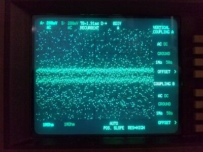 Philips PM 3323 / 41 Digital Oscilloscope 500 MS/s sample. Might Be Working?!?