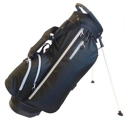 Deluxe Golf Stand Bag with Double Shoulder Strap