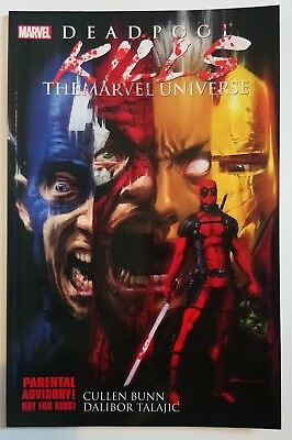 DEADPOOL Kills The Marvel Universe #1 Paperback Graphic Novel - NEAR MINT