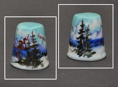 Hand Painted Aspen Thimble