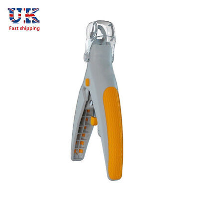 LED Pet Nail Dog Cat Claw Clippers Trimmer Scissors Cutters With Battery