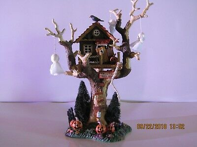 Department 56 Snow Village Halloween Haunted Tree House