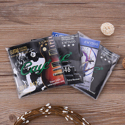 UK 6pcs CAYE Electric Guitar Strings EW7300 EW7400 EW7500 EW7600 Guitar Strings