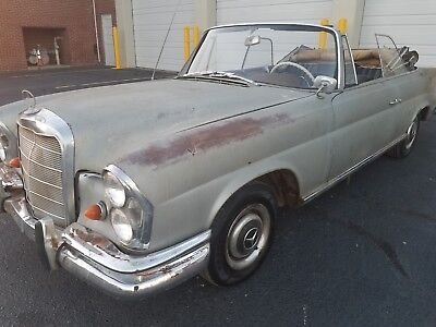 1962 Mercedes-Benz 200-Series 220se 1962 Mercedes Benz 220Se Convertible