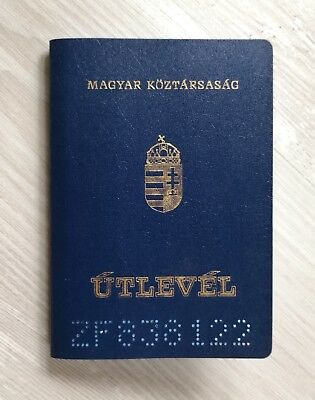 HUNGARY collectible passport travel document (cancelled/expired)