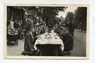 Willesden Green Photo Street Party (1930/40's)