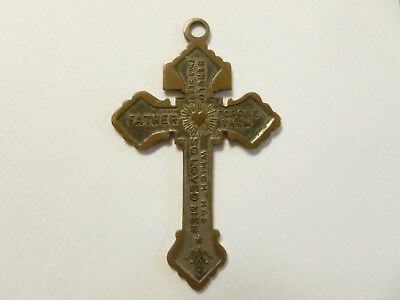 BRASS CRUCIFIX WORN BY SERGEANT WITH THE 20th MAINE ~ GETTYSBURG ~ CIVIL WAR