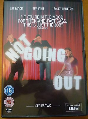 Not Going Out - Series 2 - Complete (DVD, 2009, 2-Disc Set) Excellent Condition