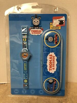 Thomas and Friends Children Kids Quartz Watch New in Package with Case!