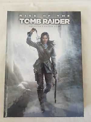 Rise of the Tomb Raider collector's edition guide hardback book #927
