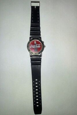 1999 Coca Cola Stainless Steel Watch