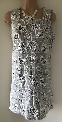 6a5c8f582be Urban Outfitters Cooperative Tunic Dress Floral Pockets Bib Front Size S  Stretch