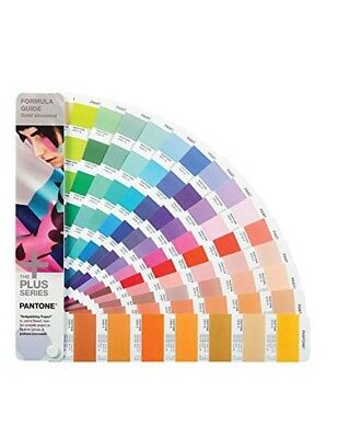 New Pantone Plus Series Solid Uncoated only Formula Guide factory sealed