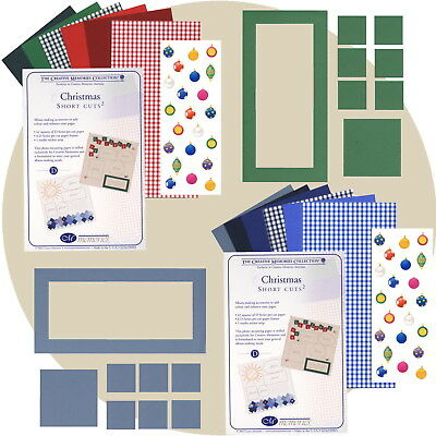 Creative Memories CHRISTMAS SHORT CUTS² Choice of Pack