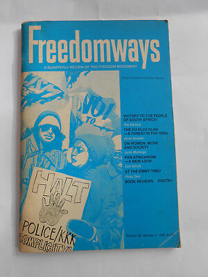 Freedomways A Quarterly Review Of The Freedom Movement Spring 1980