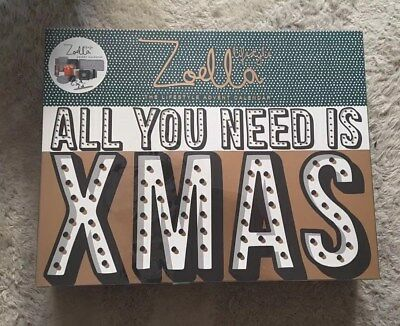 Zoella All You Need Is Xmas Advent Calendar RRP £50 - Brand New & Sealed!!!