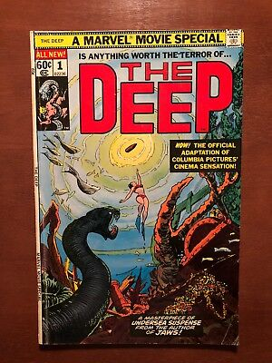The Deep #1 (1977) 6.5 FN Marvel Key Issue Comic Book Movie Bronze Age