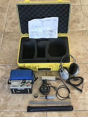 SubSurface Instruments LD-12 Professional Water Leak Detector - Good Condition