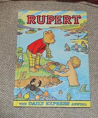 A Original Rare RUPERT Daily Express Annual 1975 1st Edition Price Unclipped 80p