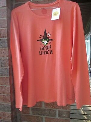 be860a7e1eb nwt life is good women s t shirt xxl crusher The Good witch tee Halloween