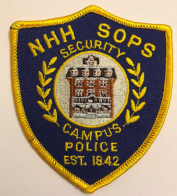 New Hampshire NH Hospital State Office Park South Human Services Police Patch