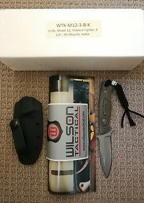 Wilson Tactical Knives WT123BK
