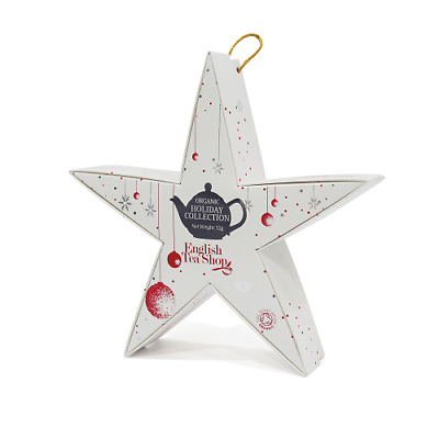 ENGLISH TEA SHOP Red Silver Star Gift Pack