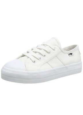 Rocket Dog Magiccn Uk8 White Euro 41 Usa 10 Womens Low Top Trainers Canvas
