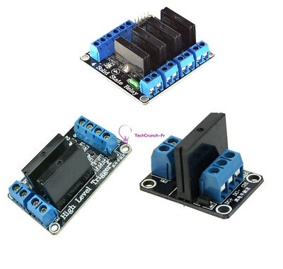 1/2/4 Channel 5v OMRON SSR G3MB-202P Solid State Relay Module For Arduino NEW