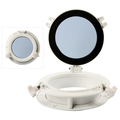 """Pair! 8"""" Opening Portlight Porthole, Replacement Window Port Hole 8 Inch -Round"""