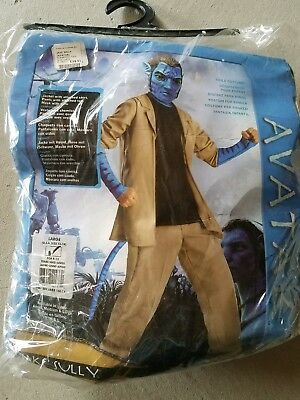 N Child Rubies Avatar Jake Sully Halloween Costume Size L