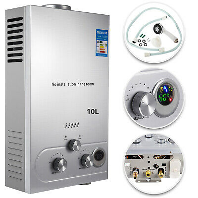 10L Natural Gas Hot Water Heater Auto-Protection Energy-Saving Instant PRO