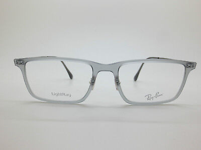 NEW Authentic Ray Ban RB 7050 5482 LightRay Matte Grey 54mm Rx Eyeglasses b06e7d85ac9a