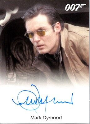 2017 James Bond Archives Die Another Day Autograph Mark Dymond