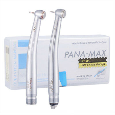 1/5/10 NSK PANA MAX Style Dental Push Button High Speed Handpiece 2/4 Hole B2/M4