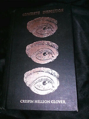 Crispin Glover Book, Concrete Inspection, Signed, great condition