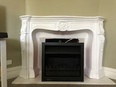fireplace mantle - Plaster