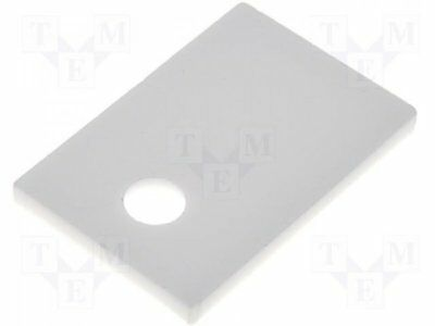AOS220 - 1pcs Isolant a conductibilite thermique: ceramique; TO220; L:12mm