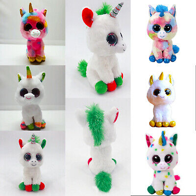 """6"""" Ty Beanie Boos Stuffed Animal Plush Doll Soft Kids Toys Toy Christmas Gifts ."""
