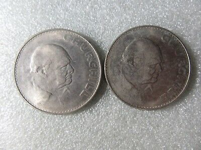Uk   1965    Crowns   2   Coins