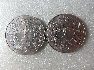 Uk   1977    Crowns   2   Coins