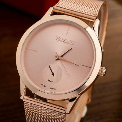 New Simple Luxury Fashion Alloy Men Women's Quartz Analog Lover's Gift Watches