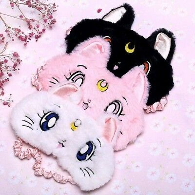 Comfortable Cute Eye Mask for Rest and Sleep Cat Pattern Blinder Mask Hot Sale