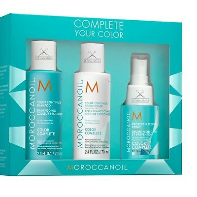 MOROCCANOIL 3-tlg. Complete Your Color SET / KIT (Shampoo + Conditioner + Spray)
