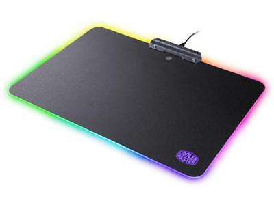 Cooler Master MasterAccessory RGB Hard Gaming Mousepad with Optimized Surface, N