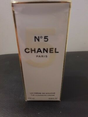 BN sealed Chanel No 5 cleansing cream 200 ml