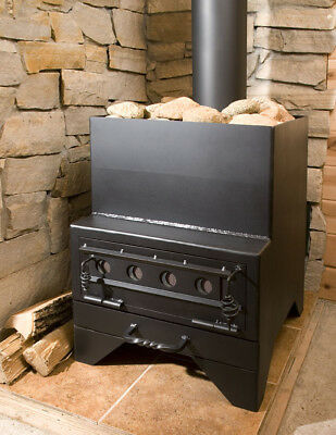Sauna Stove, wood burning, build it yourself plans.